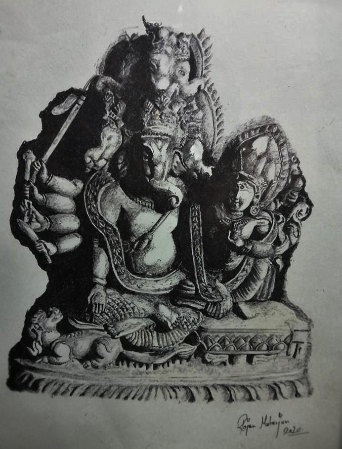 Ganesh And Shakti